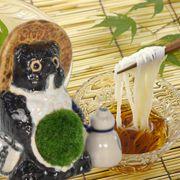 小豆島手延べそうめん 苔盆栽の納涼セット